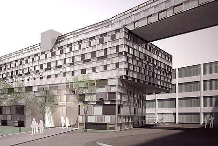 Rendering: Wirtschaftspark Breitensee wird um Neubau erweitert