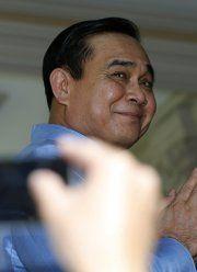 Thailands Putschführer zeigte nac