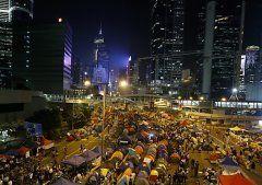 """Hongkong: Demos """"außer Kontrolle"""""""