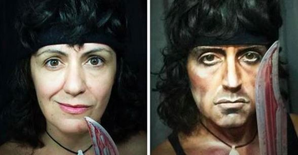 Lucia Pittalis stellt alle Halloween-Kostümierungen in den Schatten