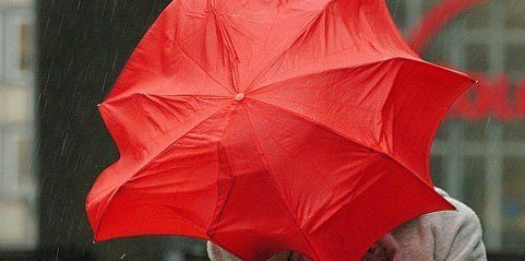 Kaltfront brachte Sturmböen und Starkregen im ganzen Land