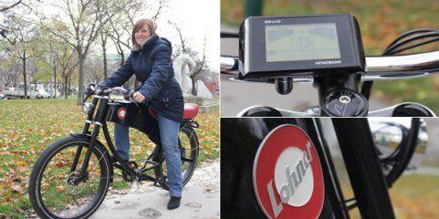 Österreichisches E-Bike: Probe- fahrt mit dem Lohner Stroler
