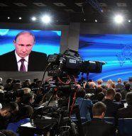 Putin gibt Ausland Schuld an Krise