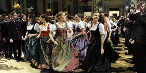Jägerball in der Wiener Hofburg