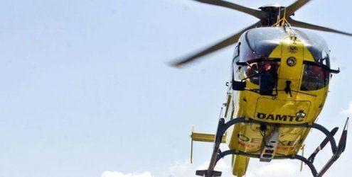 Rettungshubschrauber sollte Verletzten von Frachter holen