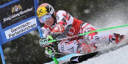 Hirscher gewinnt Garmisch-RTL mit 3,28 Sekunden Vorsprung