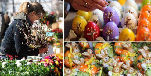 Die Ostermärkte in Wien 2015