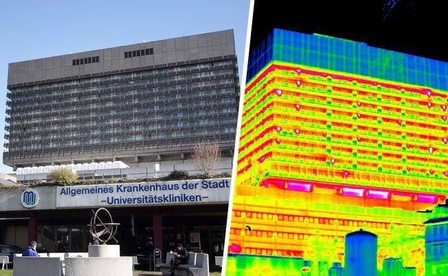 Die Farbtemperaturpalette ist bei Thermogrammen besonders wichtig.