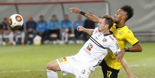 EL: Borussia Dortmund besiegt kämpferische Wolfsberger mit 1:0