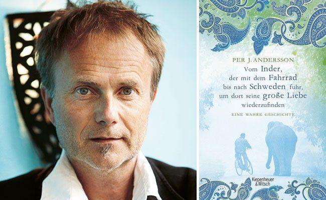 """Sperriger Titel, spannendes Buch: """"Vom Inder, der mit dem Fahrrad bis nach Schweden fuhr, um dort seine große Liebe wiederzufinden"""""""