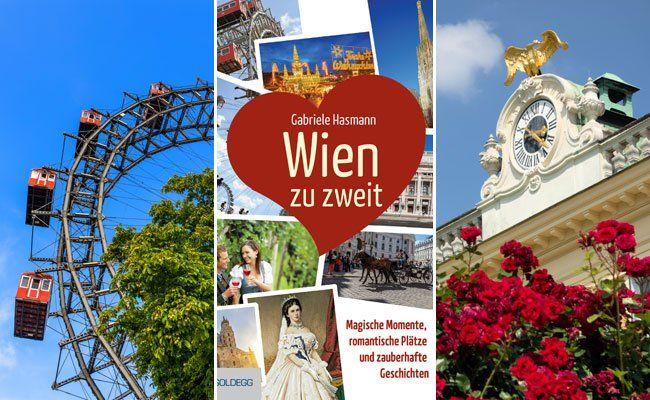 """Mit dem Buch """"Wien zu zweit"""" können Verliebte die romantischen Plätze Wiens erkunden."""