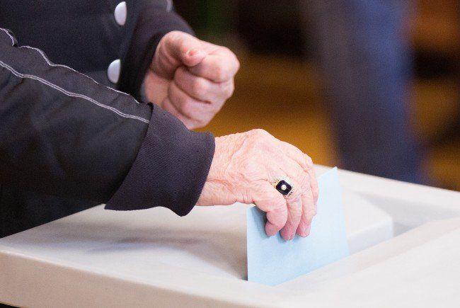 Die erste offizielle Hochrechnung zur Wien-Wahl 2015.