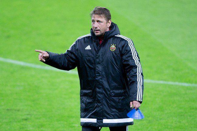 Zoran Barišić hadert mit einer Niederlagenserie in der Meisterschaft.