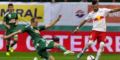 Salzburg gewann bei Rapid Wien