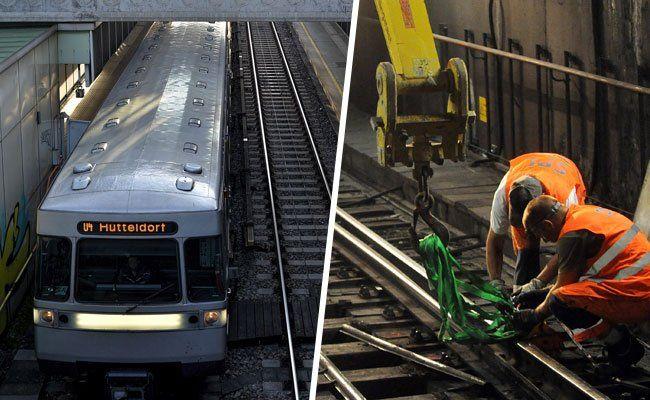 Die U4-Station Schönbrunn wird am Wochenende nicht eingehalten.