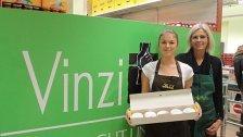 Gratis-Krapfen heute im Vinzimarkt in Wien