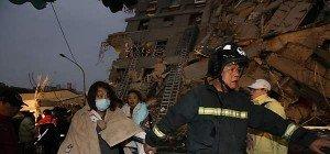 Mindestens elf Tote bei Beben in Taiwan