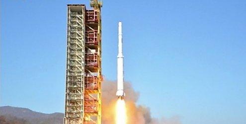 Trotz scharfer Warnungen: Nordkorea startet Trägerrakete