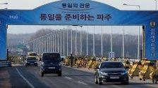 Südkorea zieht sich aus Nordkorea zurück