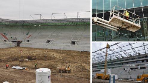 Rapid Wien: So sieht das neue Allianz Stadion derzeit aus