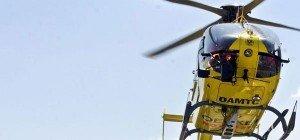 4 Meter tief mit Rücken auf Rohr gestürzt: Schwerverletzter Arbeiter in Wien 2
