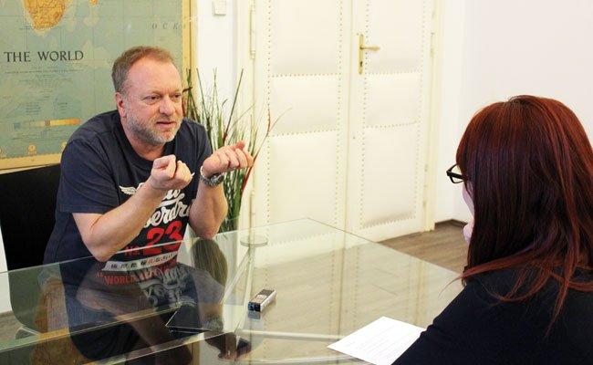 Schauspieler, Kabarettist, Gourmet: Im Gespräch mit Reinhard Nowak.
