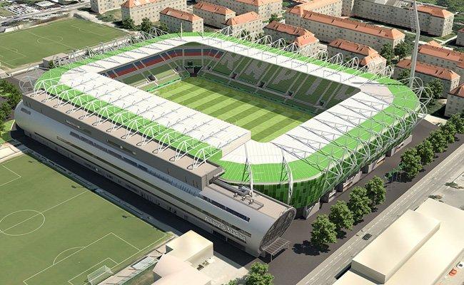 Im März startet Rapid den Aboverkauf für das Allianz Stadion.