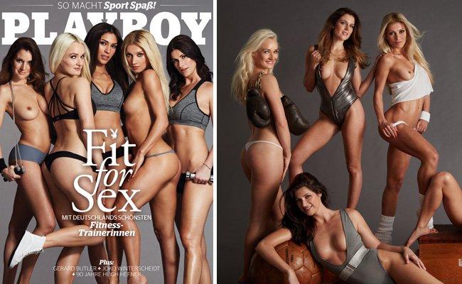 Im April-Playboy zeigen sich Deutschlands heißeste Fitness-Trainerinnen von ihrer schönsten Seite.