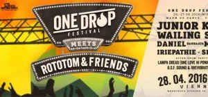 Das One Drop Festival 2016 bringt Reggae und Hip Hop nach Wiesen