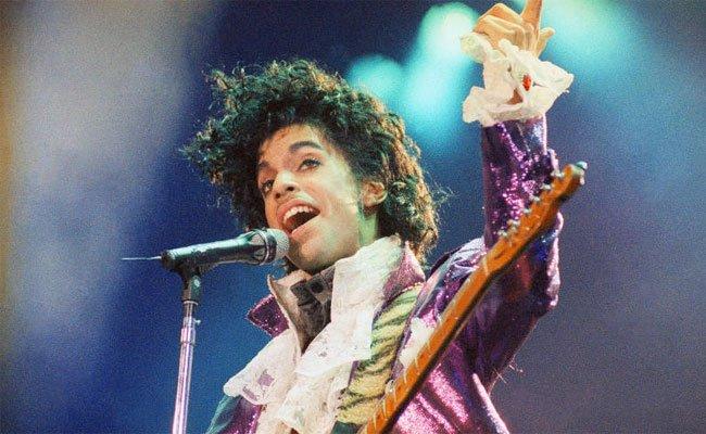 Eine Aufnahme von Prince aus dem Jahr 1985.