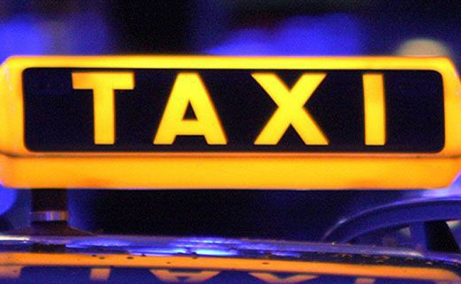 Der Taxifahrer stieß den Angreifer mit seinem Auto zu Boden, als dieser versuchte zu flüchten.