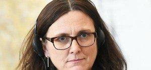 EU-Kommissarin hält TTIP-Abkommen noch heuer für möglich