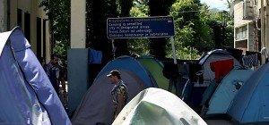 Polizei begann mit Räumung des Camps von Idomeni
