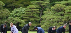 G-7-Gipfel in Japan begann mit Besuch bei Shinto-Schrein