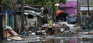 Keine Hoffnung für Vermisste in Sri Lanka nach Unwettern