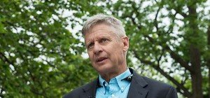 Johnson US-Präsidentschaftskandidat der Libertarians