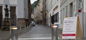 22. Poller in der Stadt Salzburg in Betrieb