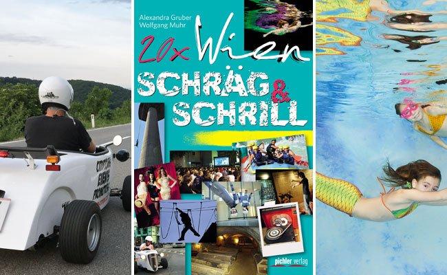 Ob mit dem Hot Rod die Wiener Straßen unsicher machen oder als Meerjungfrau im Wasser plantschen: In Wien ist alles möglich.
