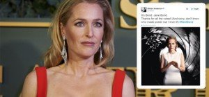 """Akte X-""Star Gillian Anderson: Wird ""Scully"" die neue ""Jane Bond""?"