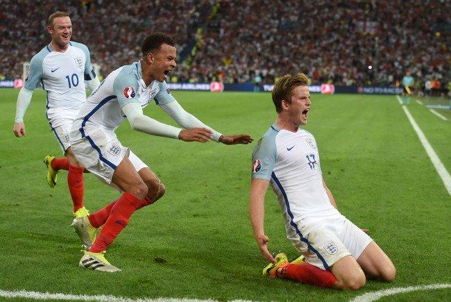 England trifft in Runde zwei der EM-Gruppe B auf Wales.