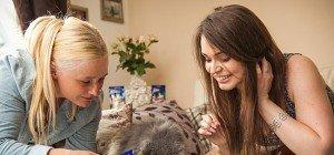 Wenn kleine Racker sturmfrei haben: 3 Monatsvorräte Katzenfutter zu gewinnen