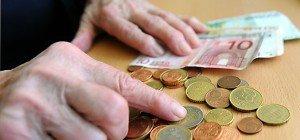 Frauen bekommen 40 Prozent weniger Pension