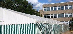 Koffer bei Flüchtlings-Aufnahmeamt in Bayern explodiert