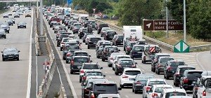"""670 Kilometer Stau in Frankreich am """"Schwarzen Samstag"""""""