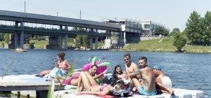 Sommerwetter kann kommen: Badeverbot auf der Neuen Donau aufgehoben