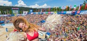 Beachvolleyball in Klagenfurt als Gradmesser für Olympia