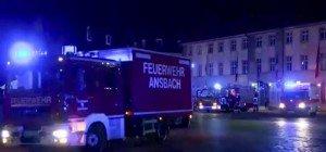 Toter und Verletzte bei Sprengstoffanschlag in Ansbach in Bayern