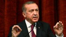 Erdogan kritisiert Österreich vor Demo