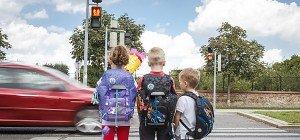 Elfjährige am Schulweg stärker gefährdet als Schulanfänger