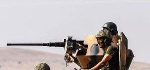 Dutzende Tote bei türkischer Offensive inNordsyrien